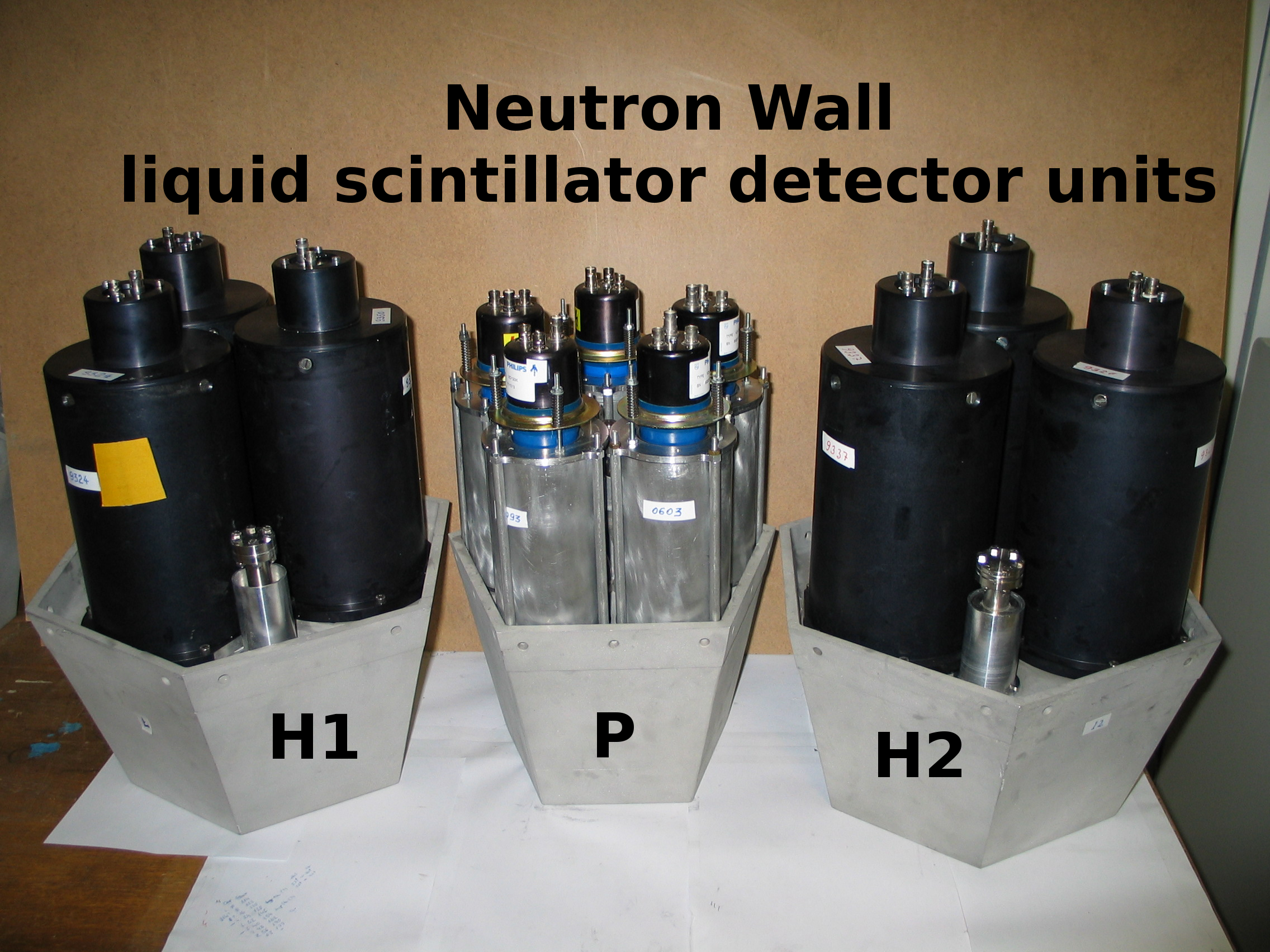 Neutron Wall  detectors